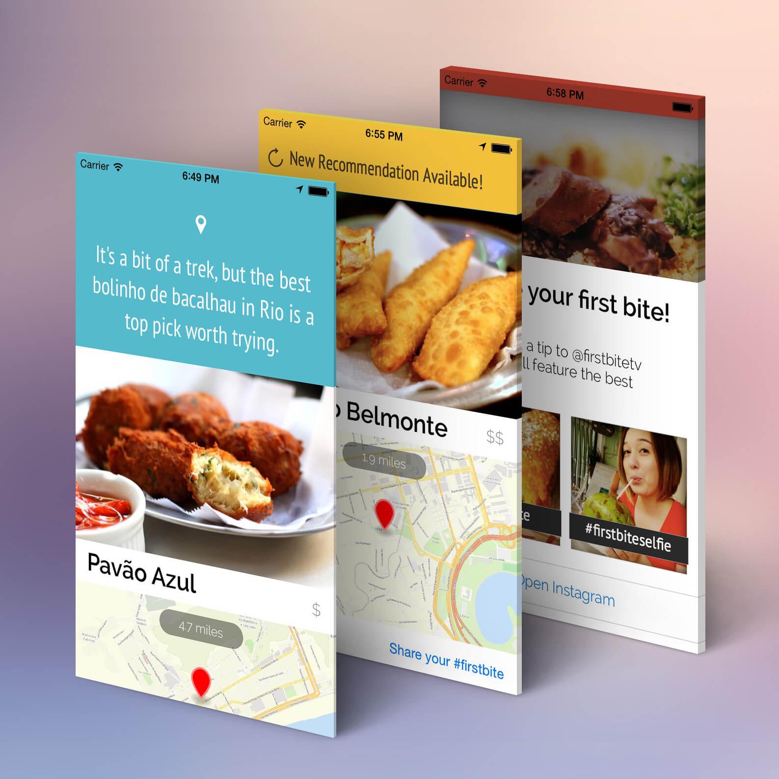 foodar_screens